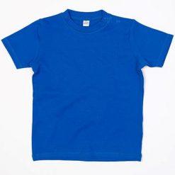 baby t-shirt bedrukt, baby shirt korte mouw, baby shirt blauw