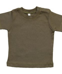 baby t-shirt bedrukt, baby shirt korte mouw, baby shirt camouflage groen