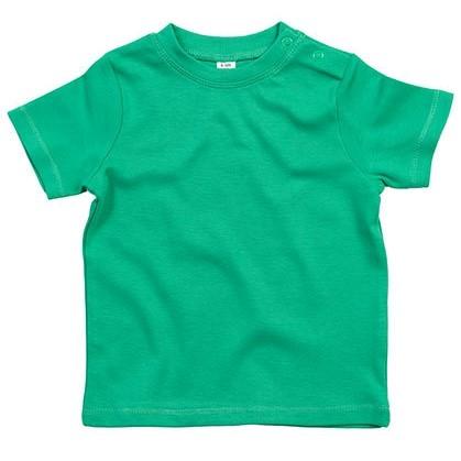baby t-shirt bedrukt, baby shirt korte mouw, baby shirt groen
