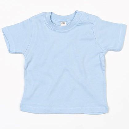 baby t-shirt bedrukt, baby shirt korte mouw, baby shirt lichtblauw