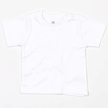 baby t-shirt bedrukt, baby shirt korte mouw, baby shirt wit