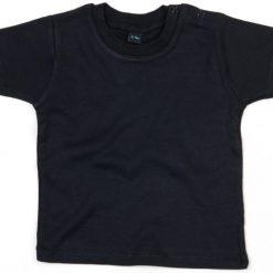 baby t-shirt bedrukt, baby shirt korte mouw, baby shirt zwart