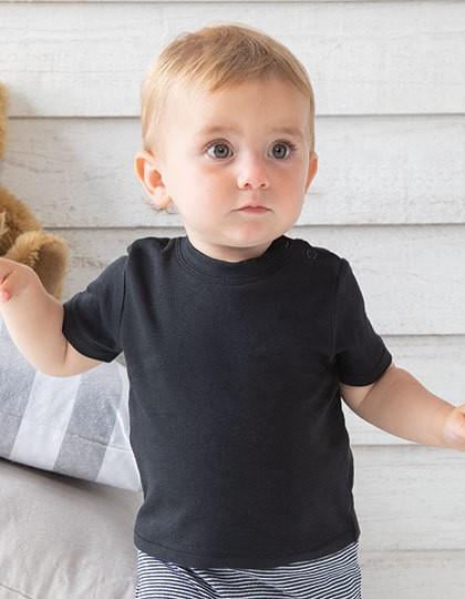 baby t-shirt zwart, baby t-shirt korte mouw