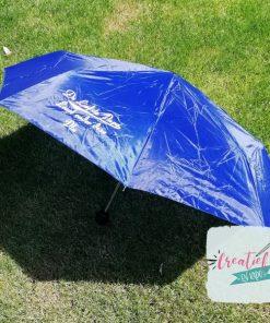 paraplu blauw, paraplu liefste papa