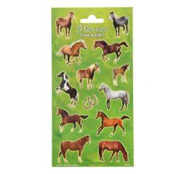 stickervel paarden, paarden traktatie, uitdeelkadootjes paarden thema