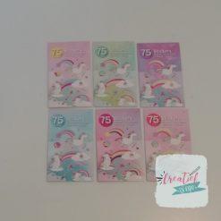 stickerboekje eenhoorn, stickerboekje unicorn, eenhoorn traktatie, meiden traktatie