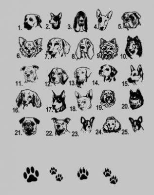 honden rassen dierenpaspoorthoesje