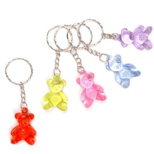 sleutelhanger beer, beren sleutelhanger, bere-gezellig schooljaar, beer uitdeelkadootjes