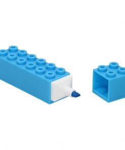 markeerstift bouwsteen blauw