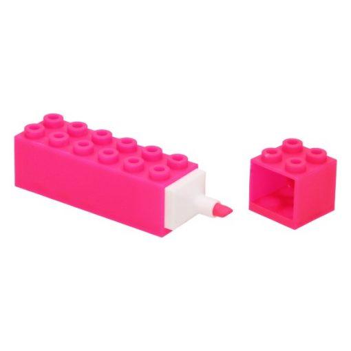 markeerstift bouwsteen roze