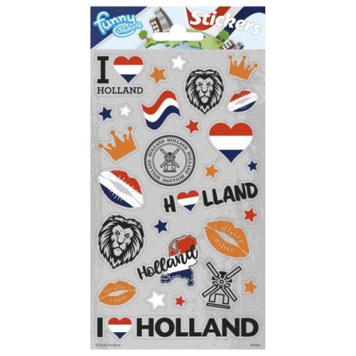 stickervel I love Holland