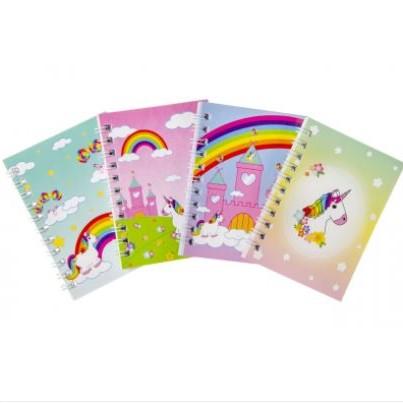 eenhoorn notitieboekje, unicorn notitieboekje, eenhoorn traktatie, uitdeelkadootjes meisjes