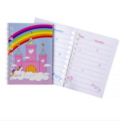 eenhoorn notitieboekje, unicorn notitieboekje, unicorn traktatie, meisjes traktatie, uitdeelkadootjes eenhoorn.