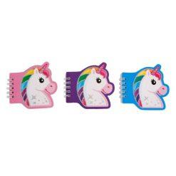 eenhoorn notitieboekje, spiraal notitieboekje, unicorn traktatie, eenhoorn uitdeelkadootjes