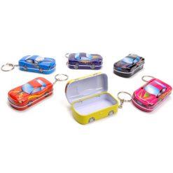 sleutelhanger auto doosje, auto sleutelhanger, sleutelhanger jongens