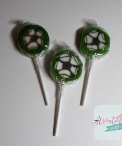 voetbal lolly's, voetbal lolly