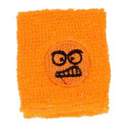 zweetbandje funny face oranje