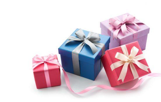 cadeautjes, kadootjes door de brievenbus
