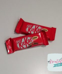 kitkat mini, candybar, chocolade, snoep traktatie