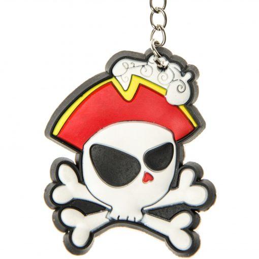 sleutelhanger piraat, piraten sleutelhanger, skull sleutelhanger