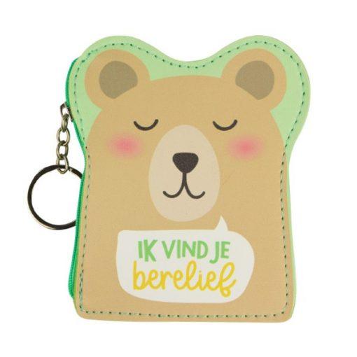 portemonnee berelief, portemonnee lief, ik vind je berelief, cadeautje valentijnsdag, cadeautje voor de liefste