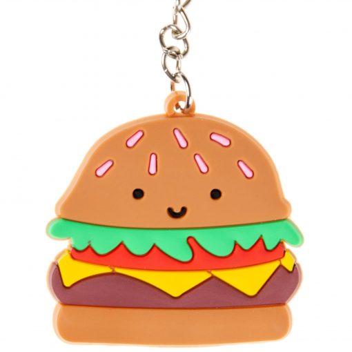 sleutelhanger fastfood, sleutelhanger hamburger