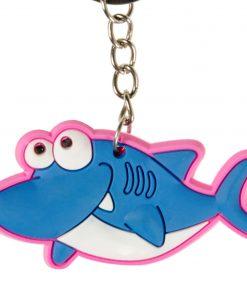 sleutelhanger haai, zwem traktatie,