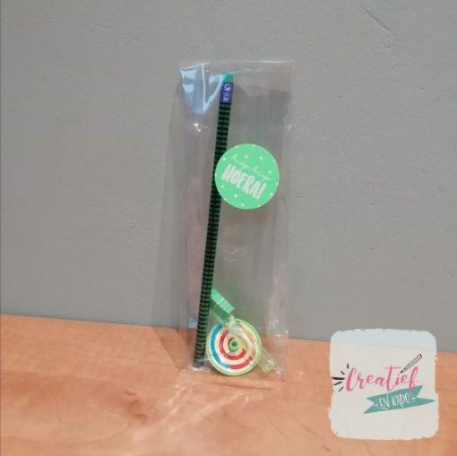 tandenborstel fun traktatie, vrolijke tanden traktatie, complete trakatie