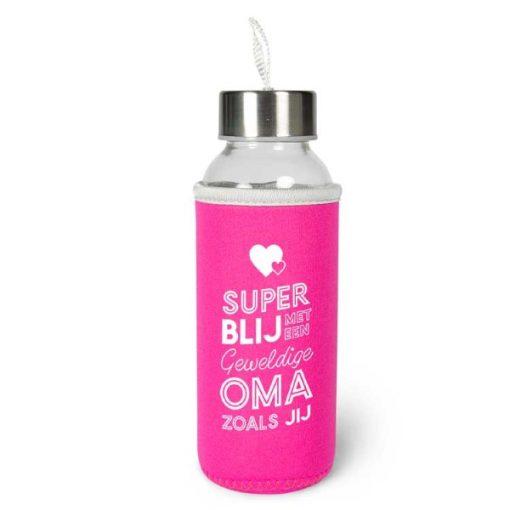 waterfles oma