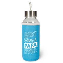 waterfles bonuspapa, cadeau vaderdag, duurzame waterfles