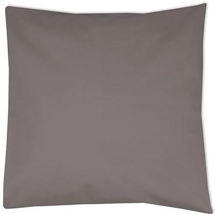 kussenhoes donker grijs, kussenhoes 40x40 cm