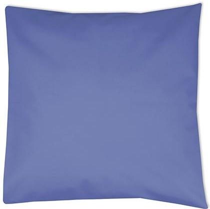 kussenhoes middenblauw, kussenhoes blauw, kussenhoes 40x40 cm