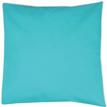 kussenhoes turquoise, kussenhoes 40x40 cm