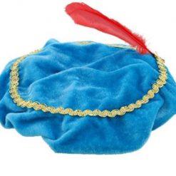 pietenbaret met naam, pietenmuts blauw