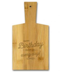borrelplank happy birthday, happy birthday enjoy life every day