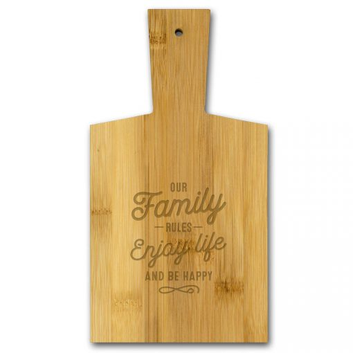 borrelplank family, our family rules enjoy life and be happy.