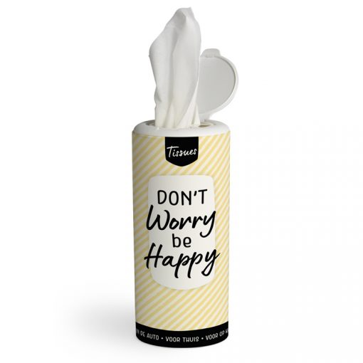 tissue dispenser dont worry be happy