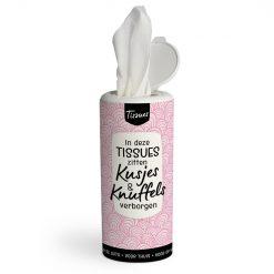 tissue dispenser kusjes & knuffels