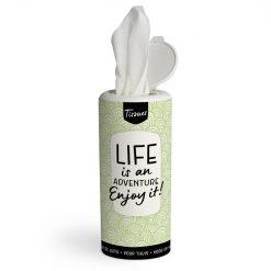 tissue dispenser life