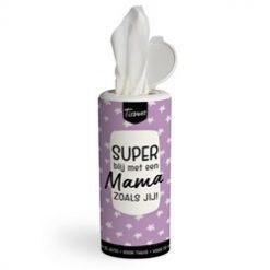 tissue dispenser mama, super blij met een mama zoals jij