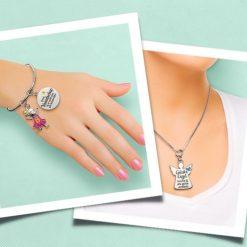 charm for you armband, charm for you ketting