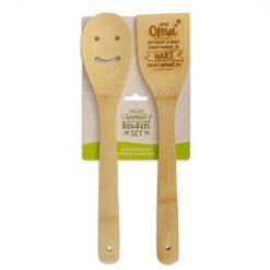 bamboe keukenset oma, lieve oma jij kookt en bakt recht vanuit je hart en dat proef je
