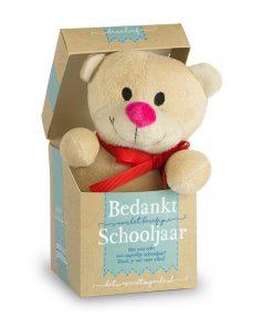 berelief schooljaar, berelief beertje, bedantk voor het berefijne sschooljaar, cadeau juf, cadeau meester, cadeau einde schooljaar