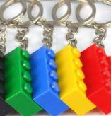 lego sleutelhanger, sleutelhanger bouwblokje