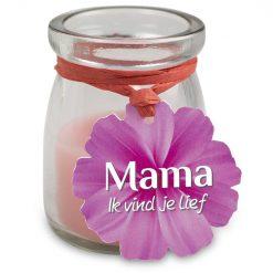 Love light mama, cadeau mama, cadeau moederdag, kaarsje mama