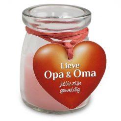 love light opa en oma, kaarsje opa en oma, cadeau opa en oma