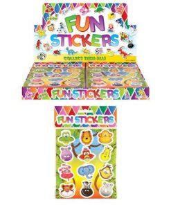 funstickervel jungle, jungle stickers, dieren stickers, dieren traktatie, uitdeelkadootje