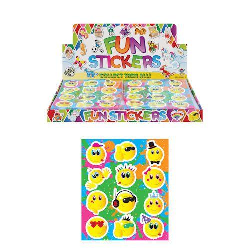 funstickers smileys, fun stickers emotions, smiley traktatie, emorion sticker traktatie