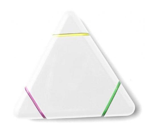 markeerstift wit driehoek
