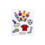 voetbal stickers glitter, voetbal stickertjes, voetbal traktatie